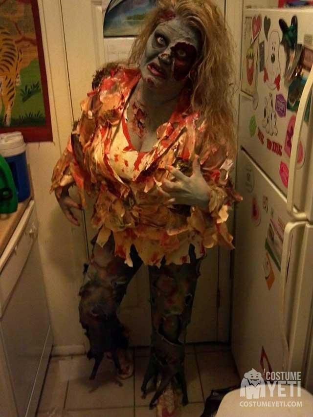 Amazing DIY Zombie Halloween Costume | Costume Yeti