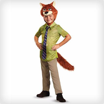 Zootopia Nick Wilde Costume