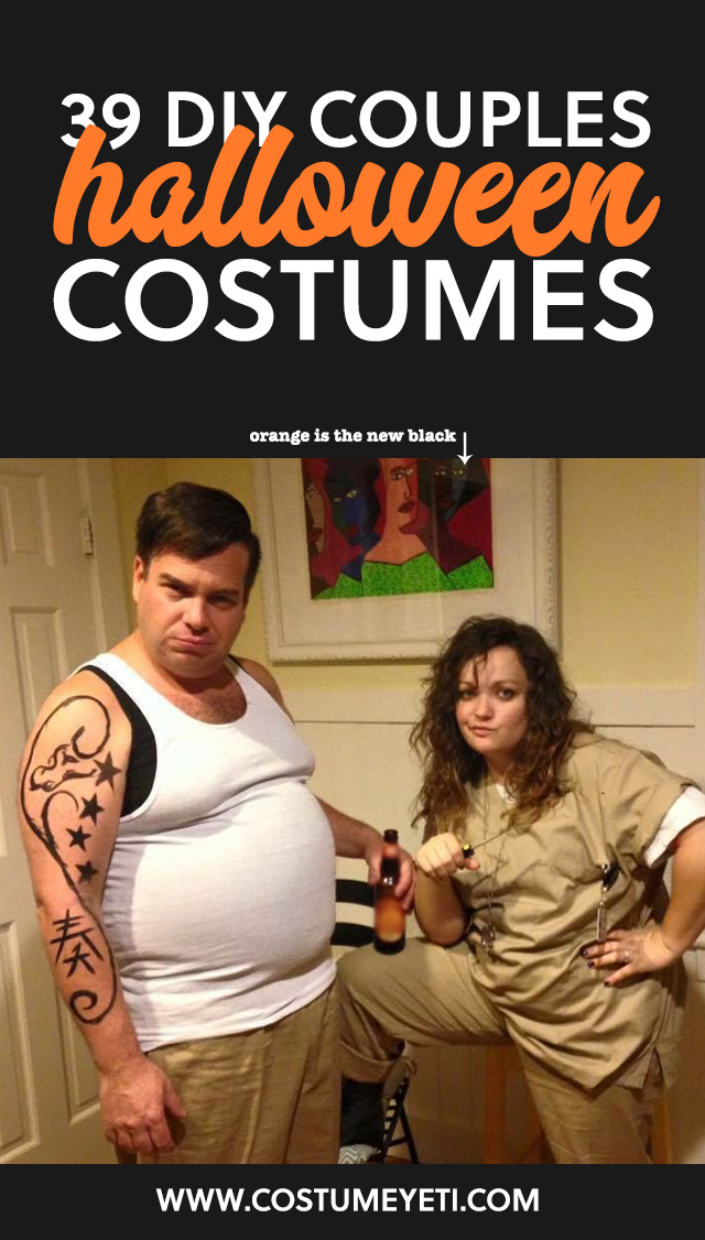 39 DIY Couples Halloween Costumes You Need to Make This Year ...