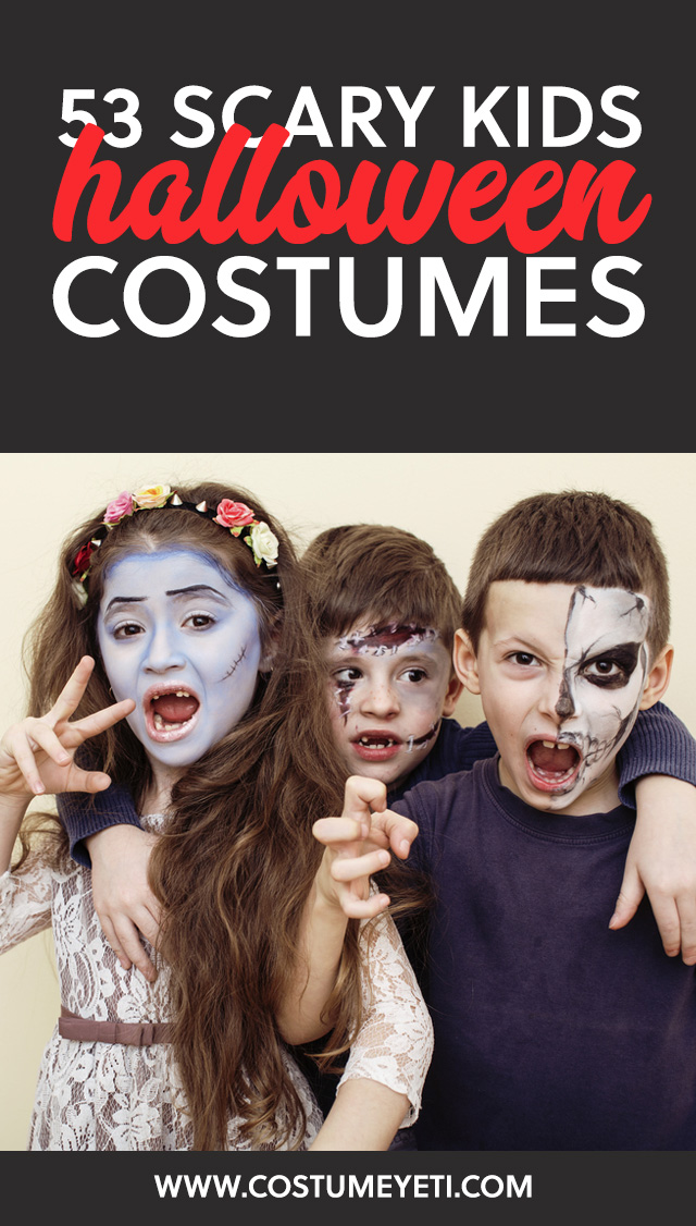 here is a list of the best classic scary kids costumes that