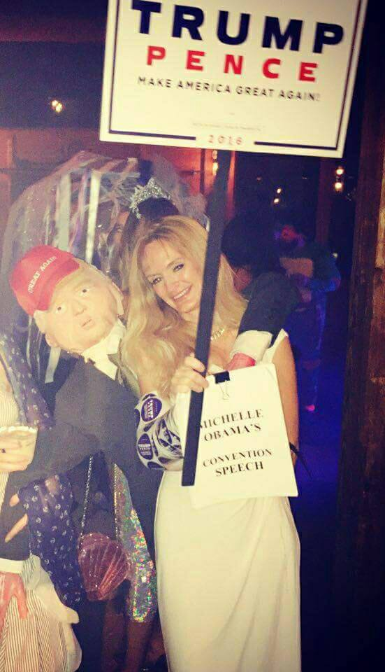 donald trump handsy costume