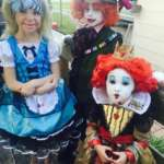 Brilliant Alice in the Looking Glass Sibling Costumes