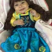 Anna Frozen Fever Halloween Baby Costume