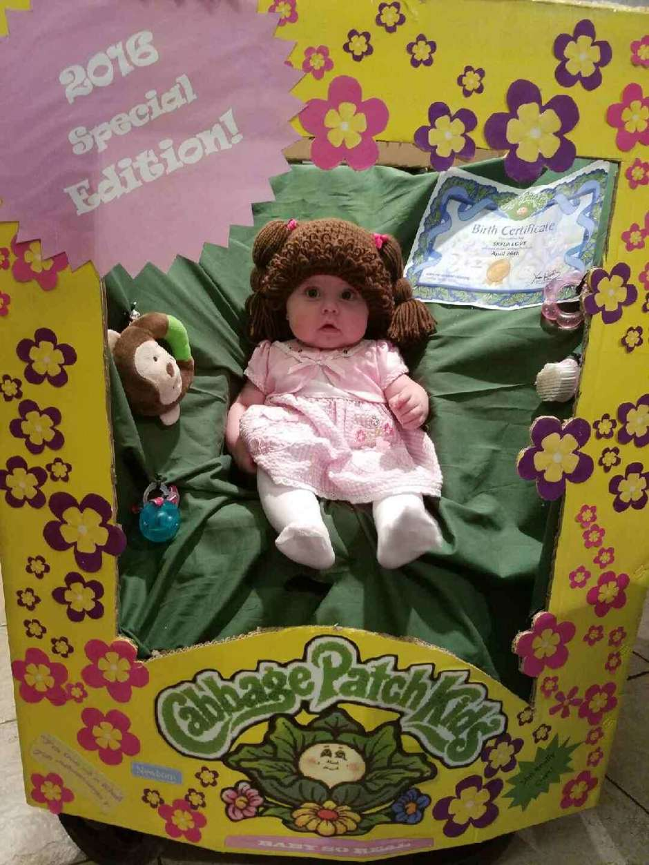 Adorable cabbage patch doll costume costume yeti cabbage patch doll costume aiddatafo Images