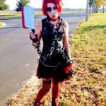 Clever Psychotic Cannibal Butcher Bunny Costume