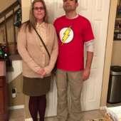 Couples Big Bang Theory Meets Suburbia Costume