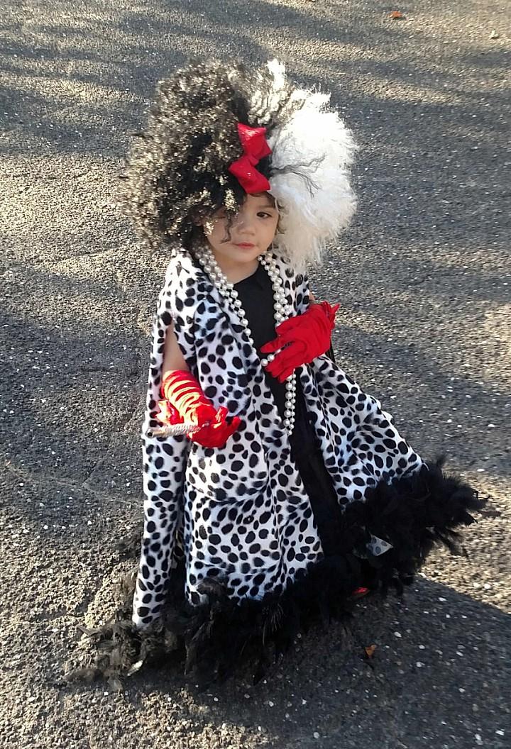 Cruella Deville Costume Kids