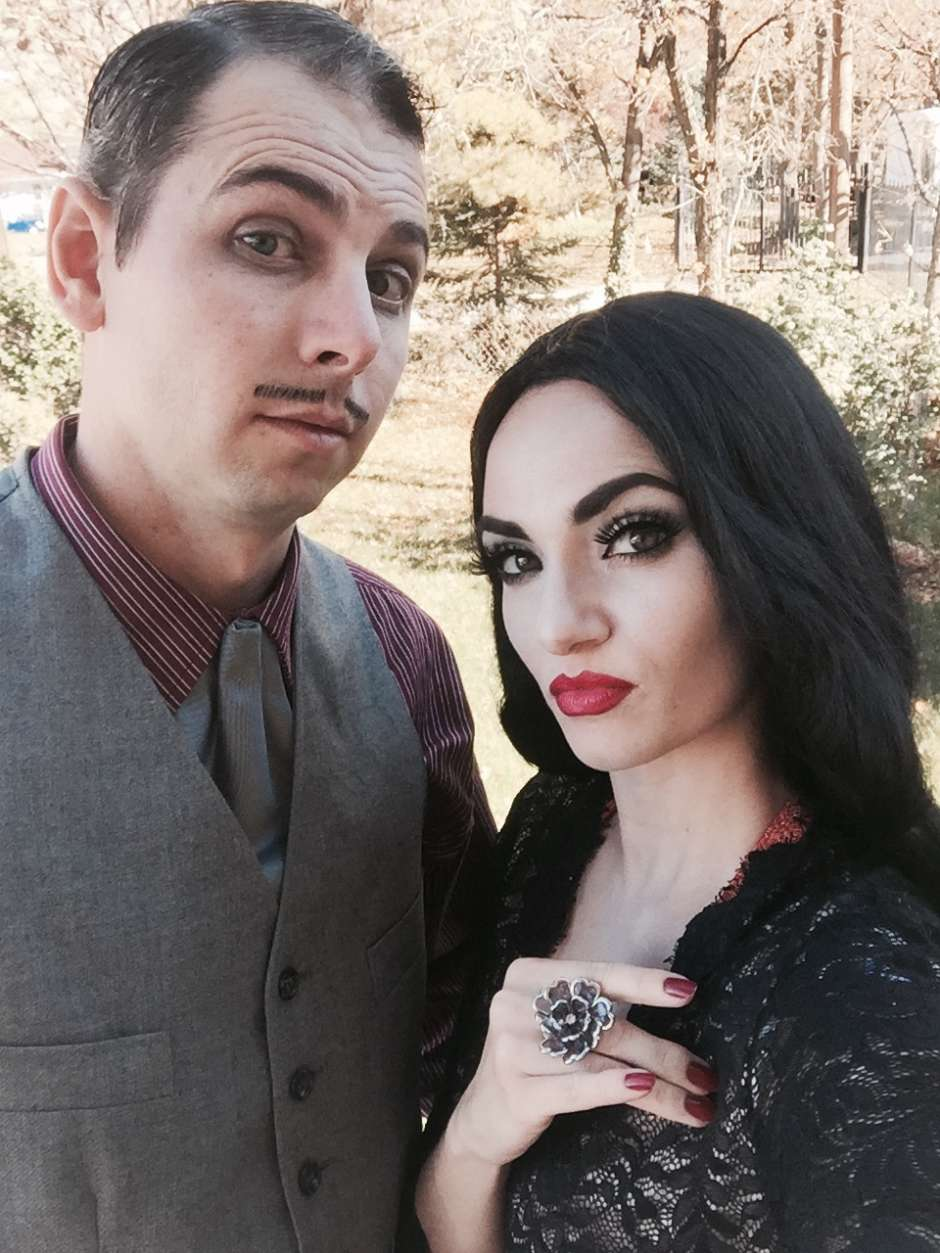 Gomez and Morticia Addams Costume