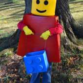 Lego Mini Figure Costume