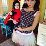Colorful Polka Dot Doll Costume