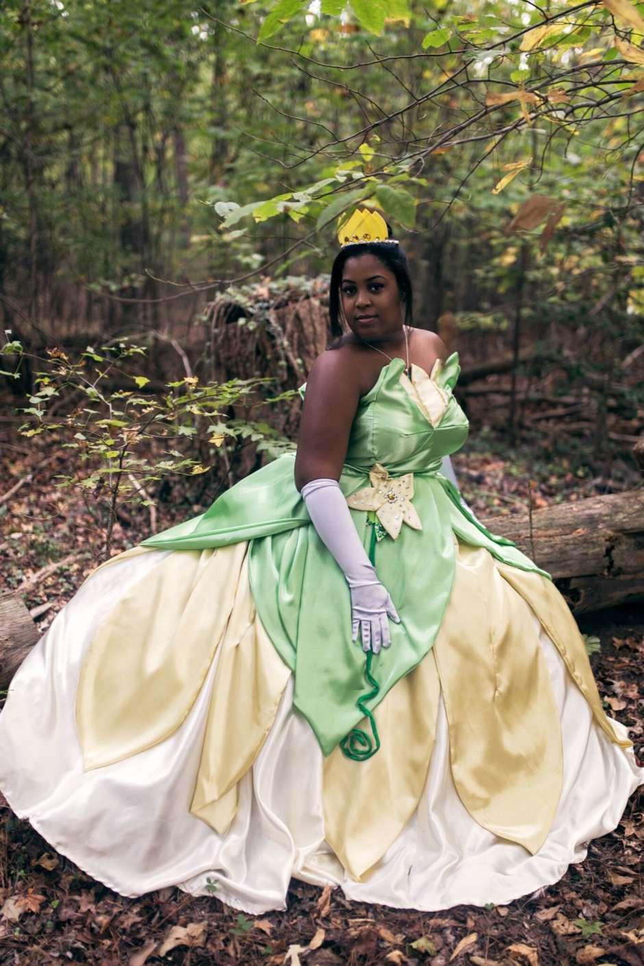 Spectacular princess tiana womens costume costume yeti princess tiana costume thecheapjerseys Images