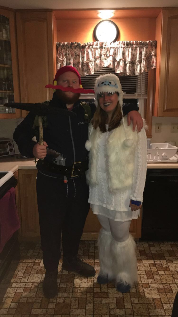 Yukon Cornelius and The Bumble Costume