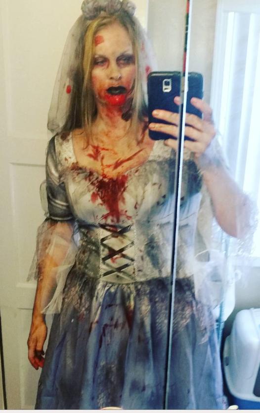 Zombie Bride Woman