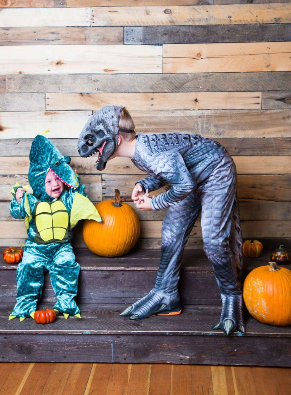 cute kids dinosaur costume