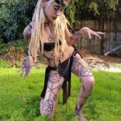 enchantress suicide girls costume