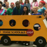 Genius Magic School Bus Group Costume