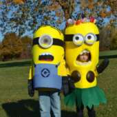 diy minions kids costume